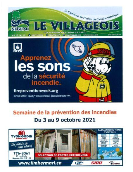 Le Villageois - Octobre 2021