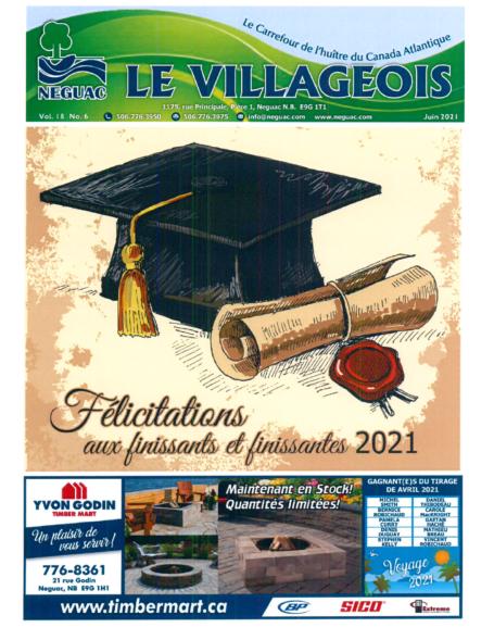 Le Villageois - Juin 2021