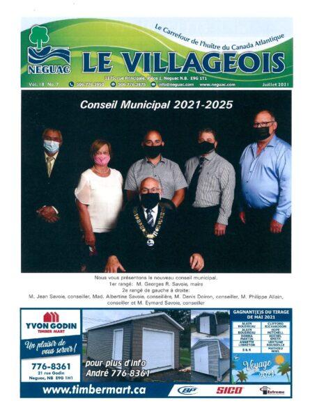 Le Villageois - Juillet