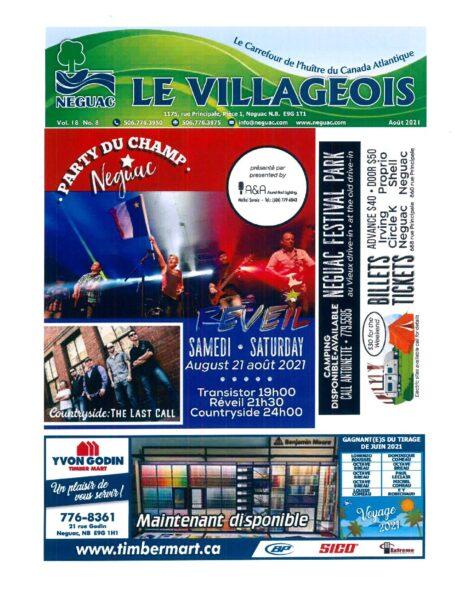 Le Villageois - August 2021