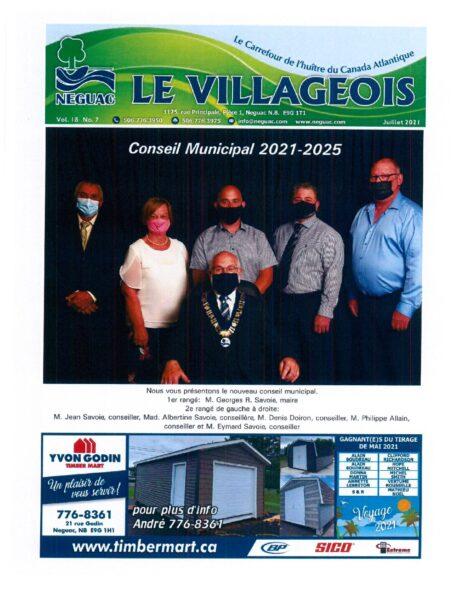 Le Villageois - July 2021