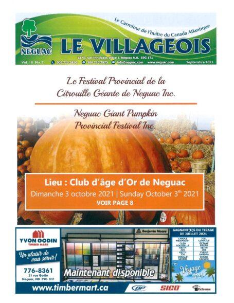 Le Villageois - September 2021