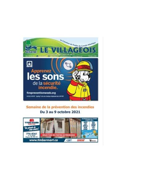 Le Villageois - October 2021