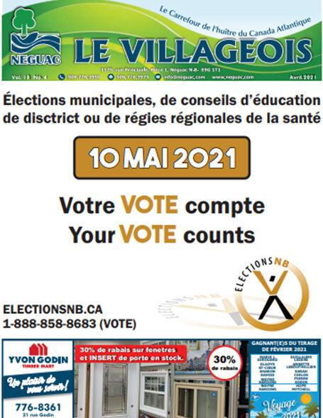 Le Villageois - April 2021