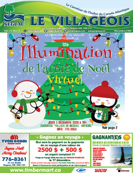 Le Villageois - Décembre 2020