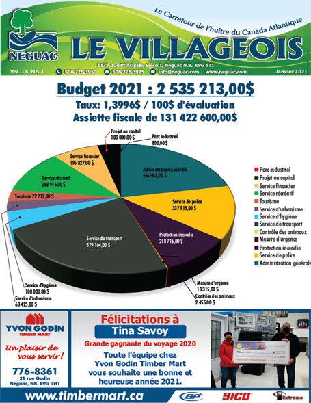 Le Villageois - Janvier 2021