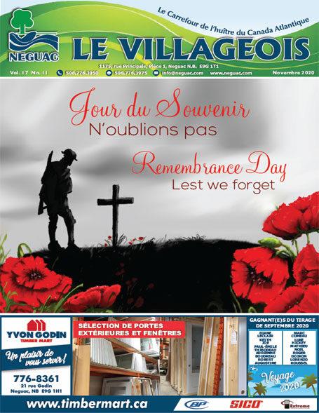 Le Villageois - Novembre 2020