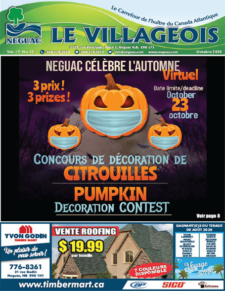 Le Villageois - October 2020